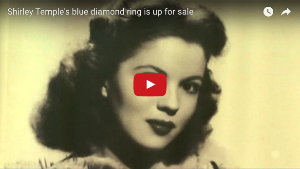 Former child star Shirley Temple's rare blue diamond ring is scheduled to go under the hammer in Sotheby's auction in New York next Tuesday. Elly Park reports for Reuters on all the particulars of this storied stone.