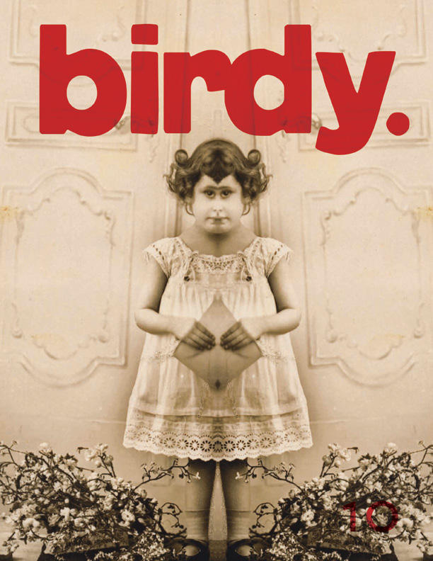 Young Girl with Widow's Peak, Cuyahoga Falls, OH, n.d., on the cover of a Denver magazine.