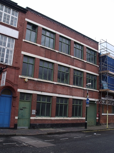 Site of William Griffith & Sons, 55–57 Vittoria Street, in Birmingham's Jewellery Quarter. (Photo: ell brown)
