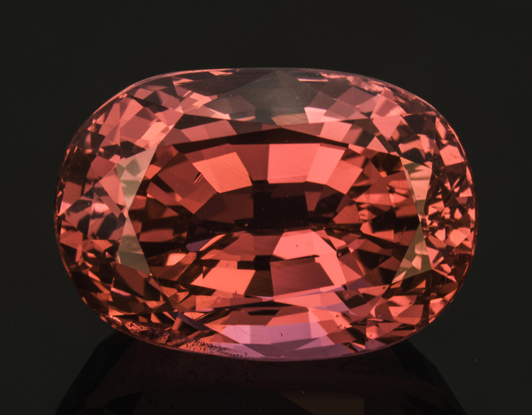 Mixed-cut spinel, 10.27 carats, from the Mahenge area of Tanzania. Pala International. (Photo: Mia Dixon)