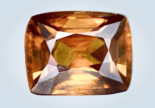 The holotype specimen, a 1.61-carat faceted gem, is deposited in the Natural History Museum of Los Angeles County under catalogue number 65602. (Photo: Dr. Kyaw Thu)