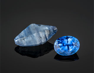 FEATURED STONES Rough and cut sapphires! READ MORE »