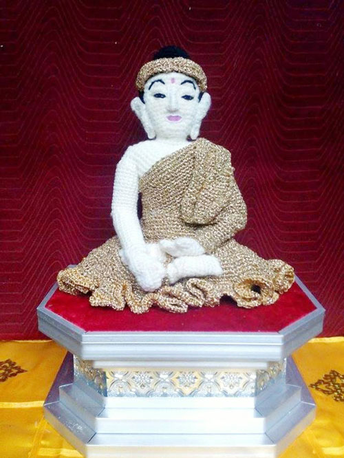 Crochet Buddha