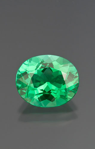 FEATURED STONE Green paraiba from Mozambique. READ MORE »
