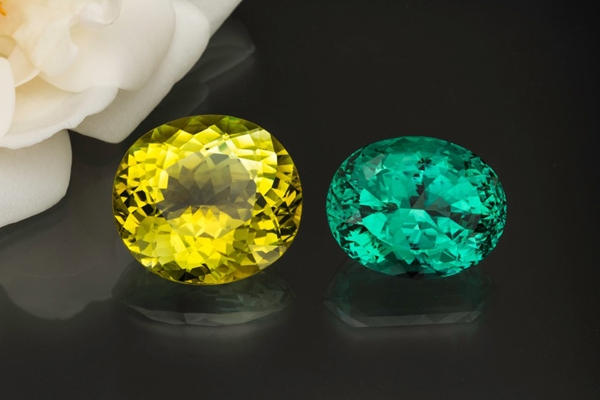 Tourmaline: Yellow and Green