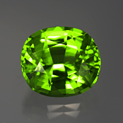 Pinch repellent. Peridot from Burma, 20.10 ct, Inv. #13034. (Photo: Mia Dixon)