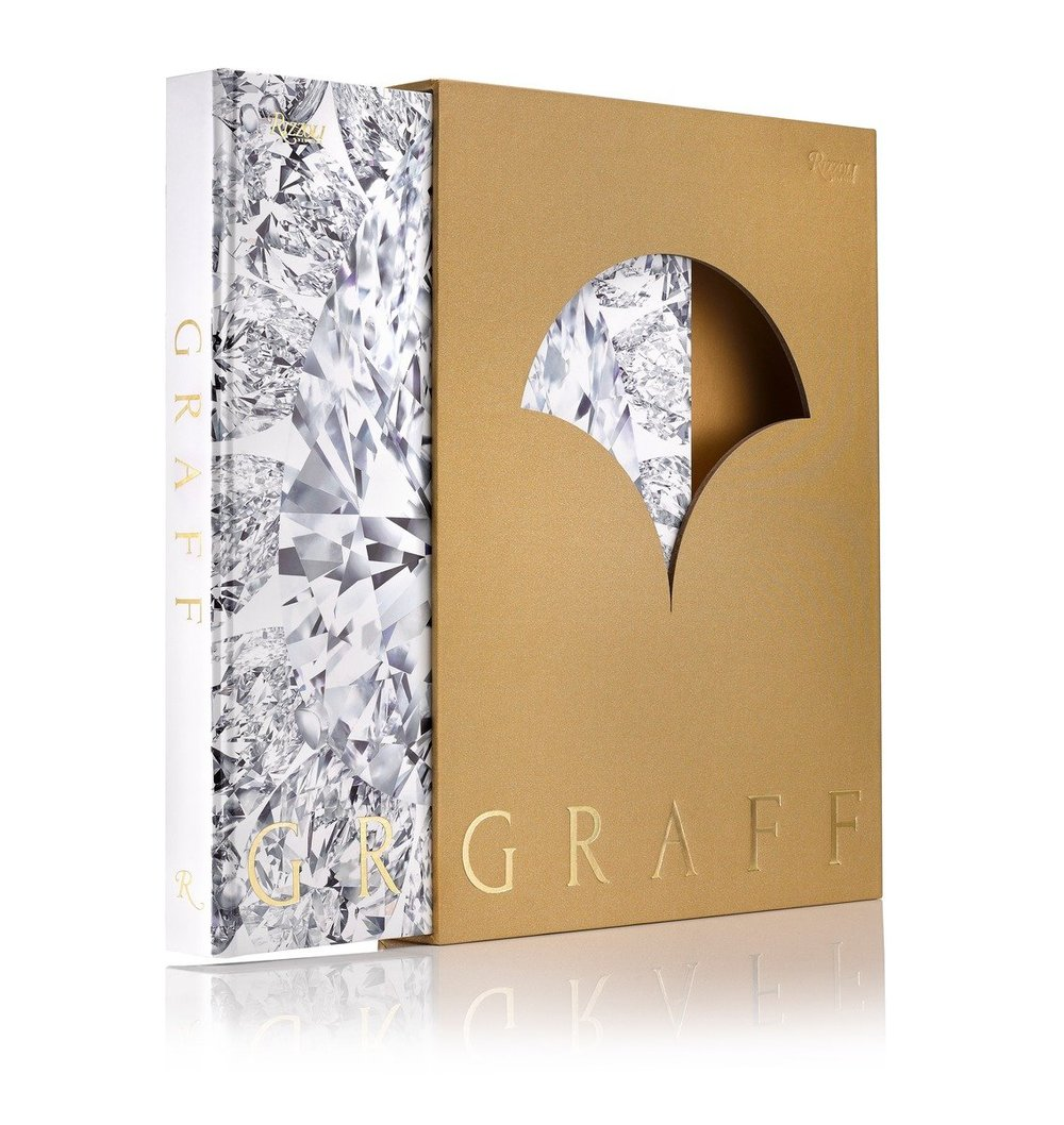 Graff  , the book, 272 pages, is published by Rizzoli and is housed in a handsomely coordinated slipcase. All proceeds from the sale of the book will be donated to the FACET Foundation. More information is available  here .