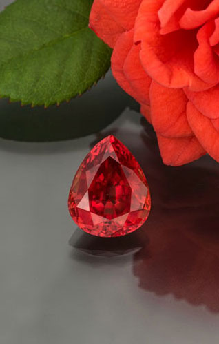 FEATURED STONE Padparadscha sapphire from Malawi READ MORE »