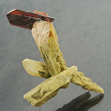 Brookite from Pakistan, 7.5 cm x 5.0 cm. (Photo: Mia Dixon)