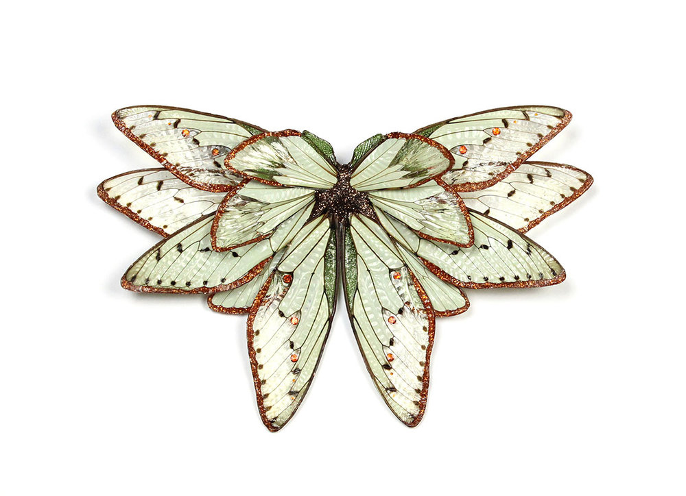Märta Mattsson, Wings (06), brooch, 2016. (Photo © Märta Mattsson)