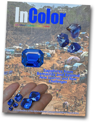 "If you were tempted by the taste of  ""Bemainty Blue""  in our own April edition, see this  in-depth report  by Vincent Pardieu in the current edition of  InColor Magazine ."