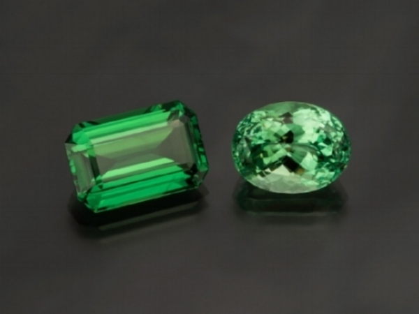 FEATURED STONES  Tsavorite & Mint Garnet   Read More