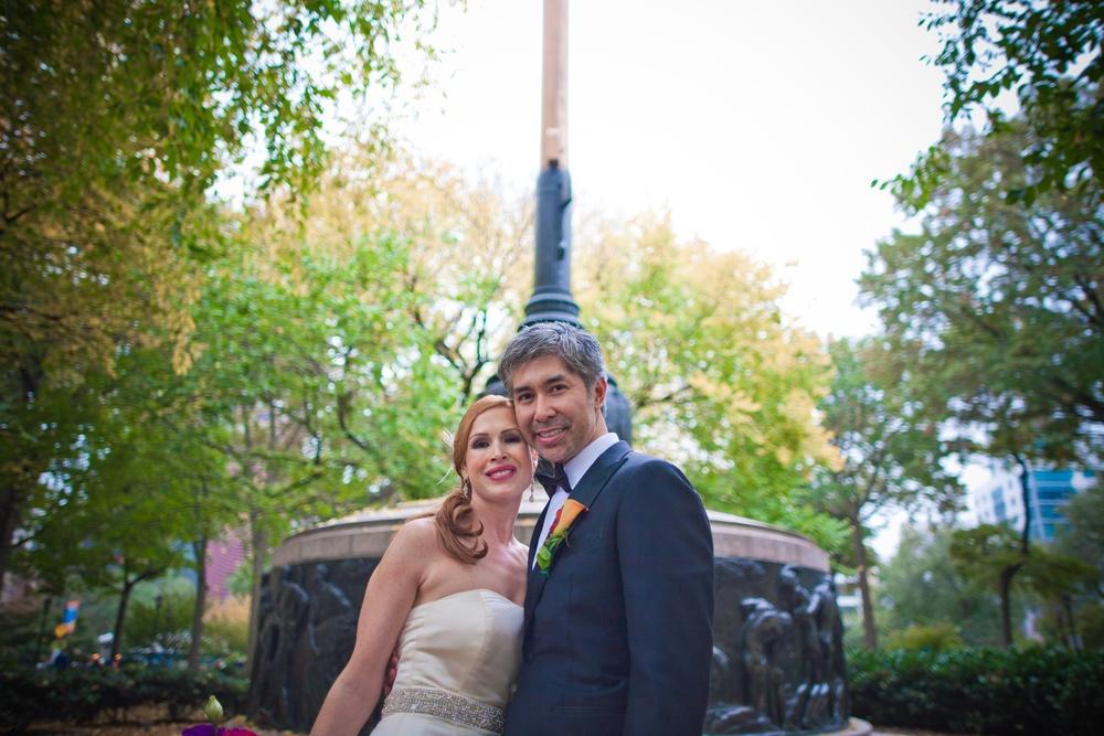Janelle & Dennis    New York, NY.