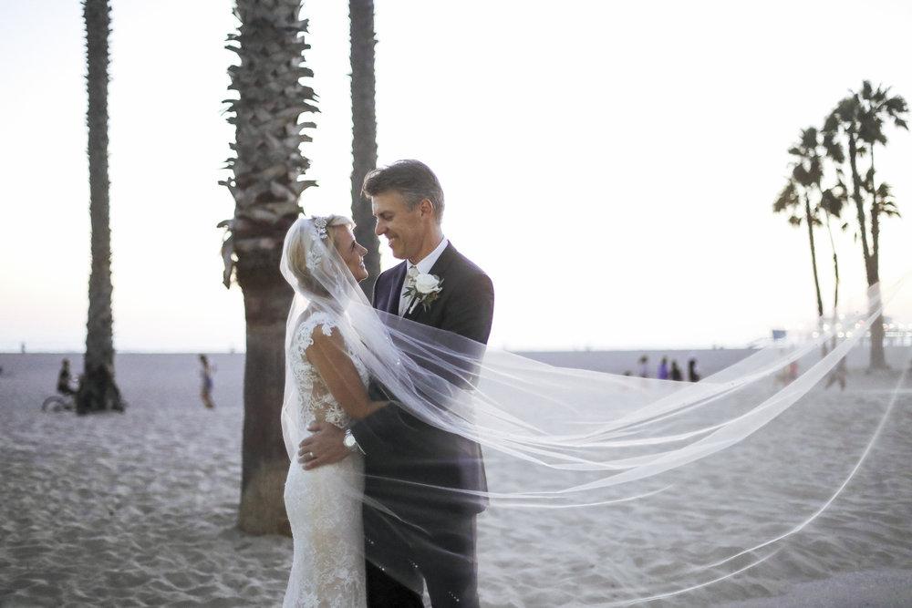 Noelle & Steve Santa Monica, CA.