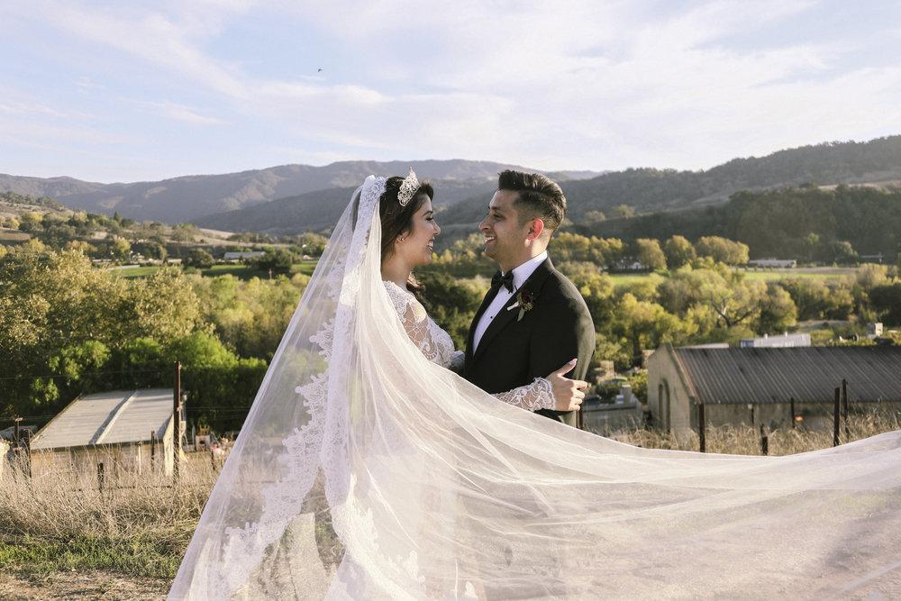 Crystal & Cesar Santa Ynez, CA.