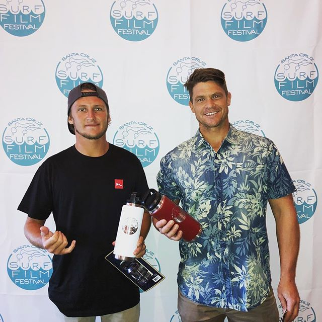 @krossumm and @elliotgray__ before they took the stage to intro @timewellspentdoc at our Friday show. The audience was full of groms and their parents stoked  to see this inspiring film about surfing, overcoming hardship, and finding purpose through helping others. Kross came out from the Big Island and Eliiott came all the way from Australia to be there. Well done, boys!!! 🤙👏 . . . . . . #yew #welovesurffilms #surffilmfestival #scsurffilmfest #seamovies #surfmovies #surffilms #surfcinema #spreadingstokethroughfilm #surfdocs #santacruz #surfing #surfers #surftrip #surfinglifestyle #waves #surfingwaves #california #filmfestival #surffilm #surfmovie #surf #surflife