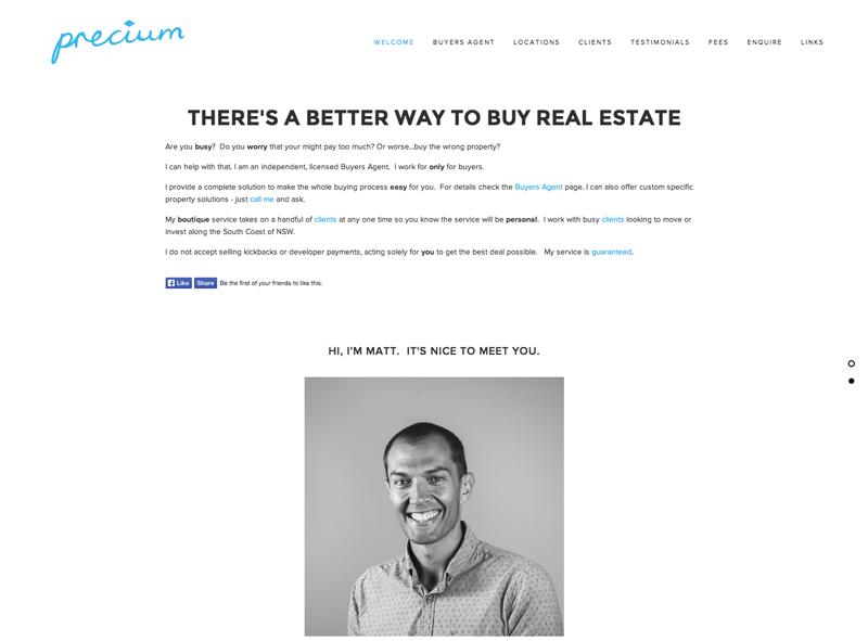 Precium Real Estate | $1290