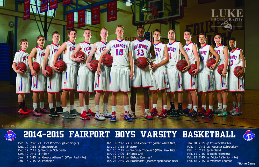 Final Product: Fairport Boys Basketball  team schedule