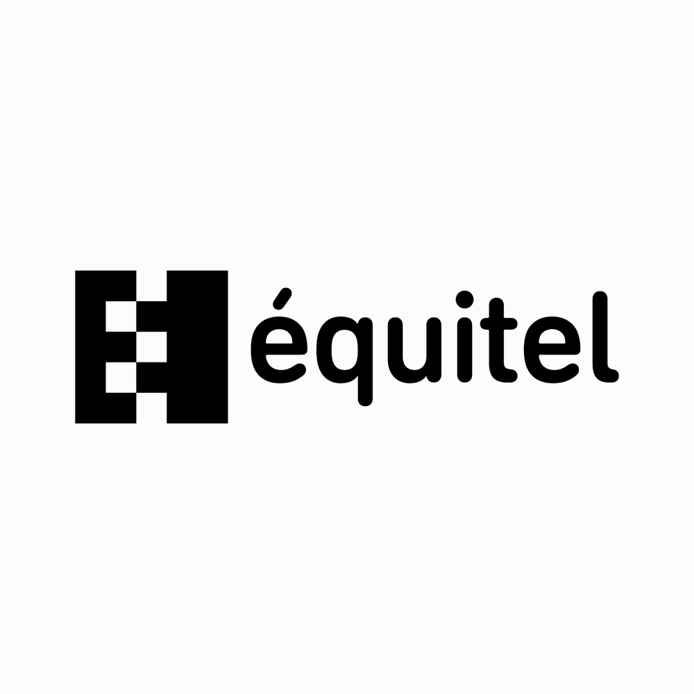 Logo & Visual Identity for  Equitel , a sustainable company. 2011, Paris, France.