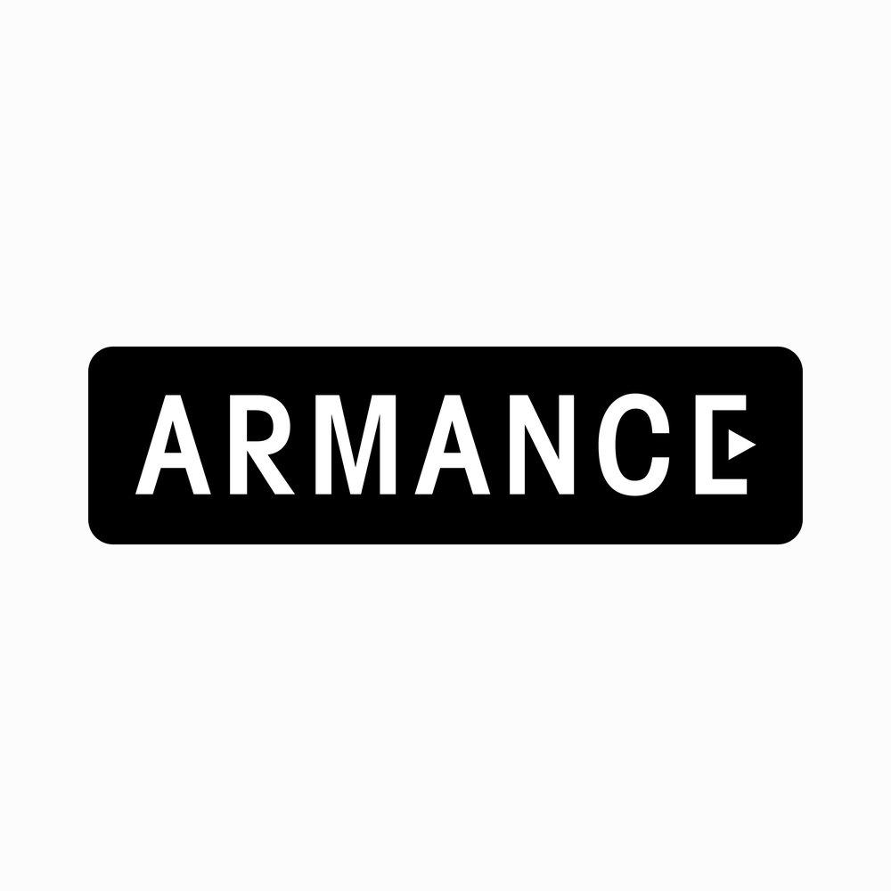 Logo for  Armance , a film production company .  2016, Paris, France.