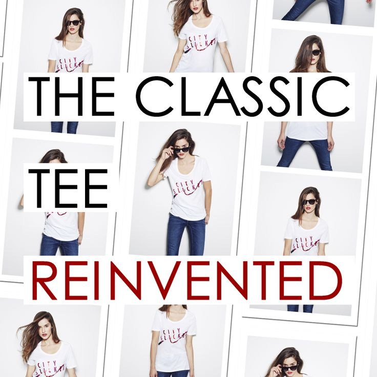 The classic tee reinvented