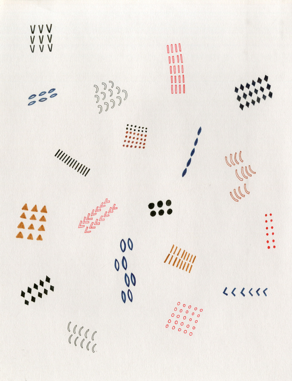 Pattern Sample, 2012