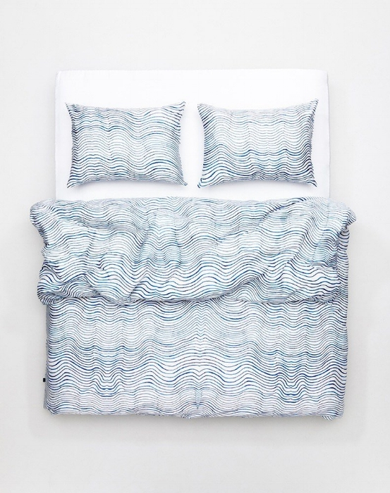 Caitlin Foster x Zig Zag Zurich - Bedding collection with Zig Zag Zurich.