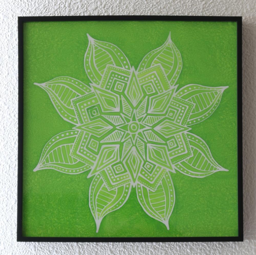 YaYa's Green Mandala