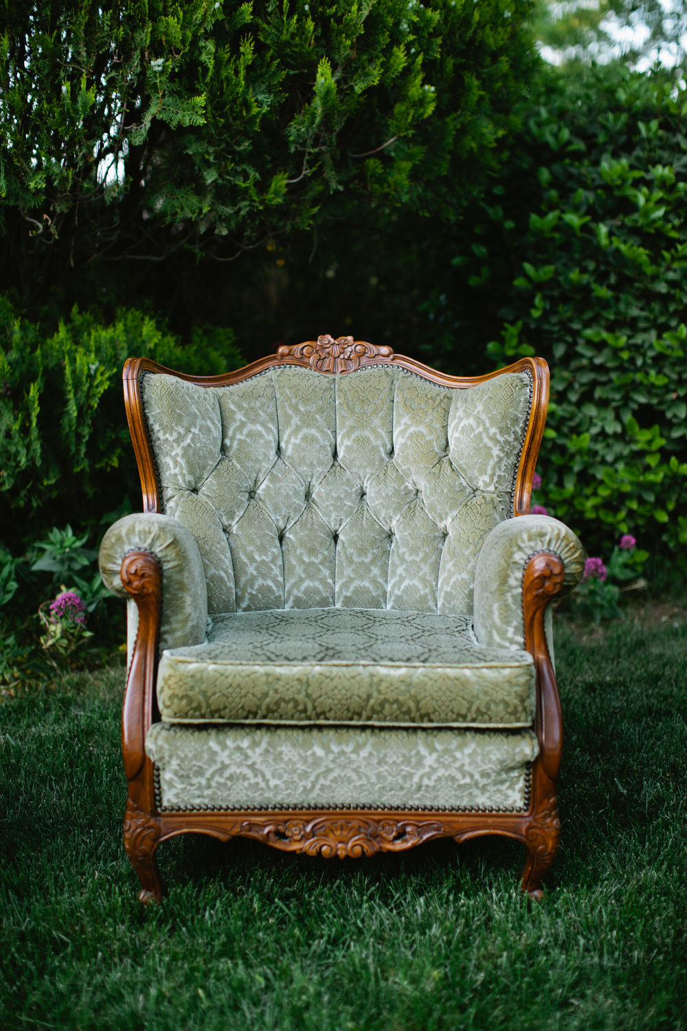 Dogwood Party Rentals | Olive Arm Chair