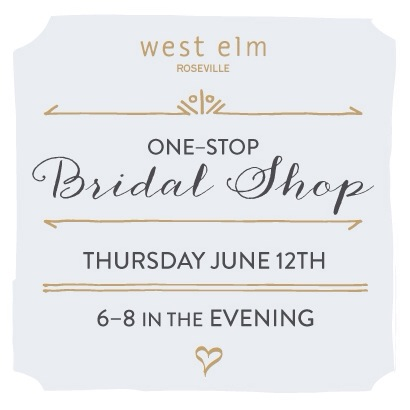 West Elm Bridal Shop