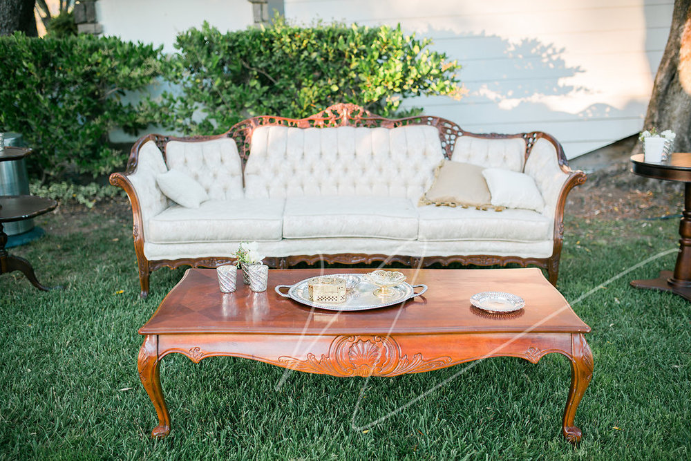 Dogwood Party Rentals | Margaret Sofa