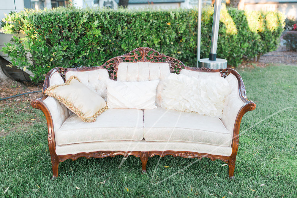 Dogwood Party Rentals | Margaret Loveseat