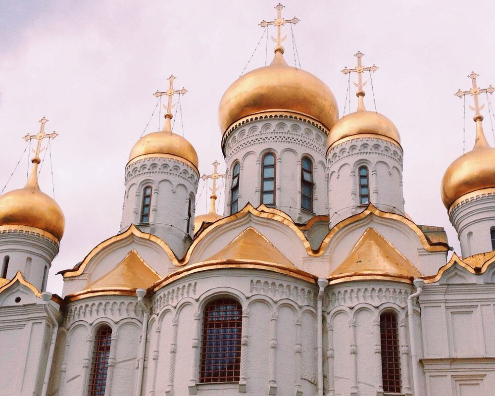 Day 16: The Kremlin — Moscow, Russia
