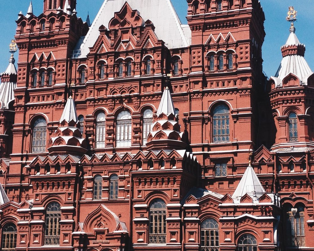 Day 15: State Historical Museum — Moscow, Russia