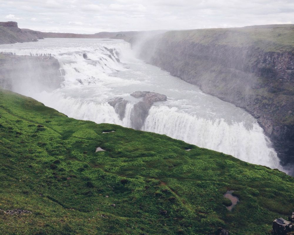 Day 35: Gulfoss Falls, Iceland