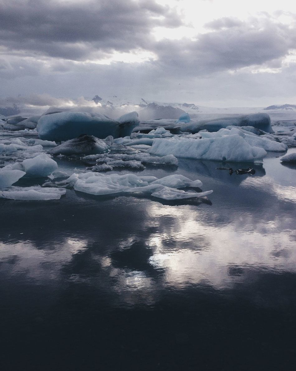 Day 42:Jökulsárlón Glacial Lagoon, Iceland