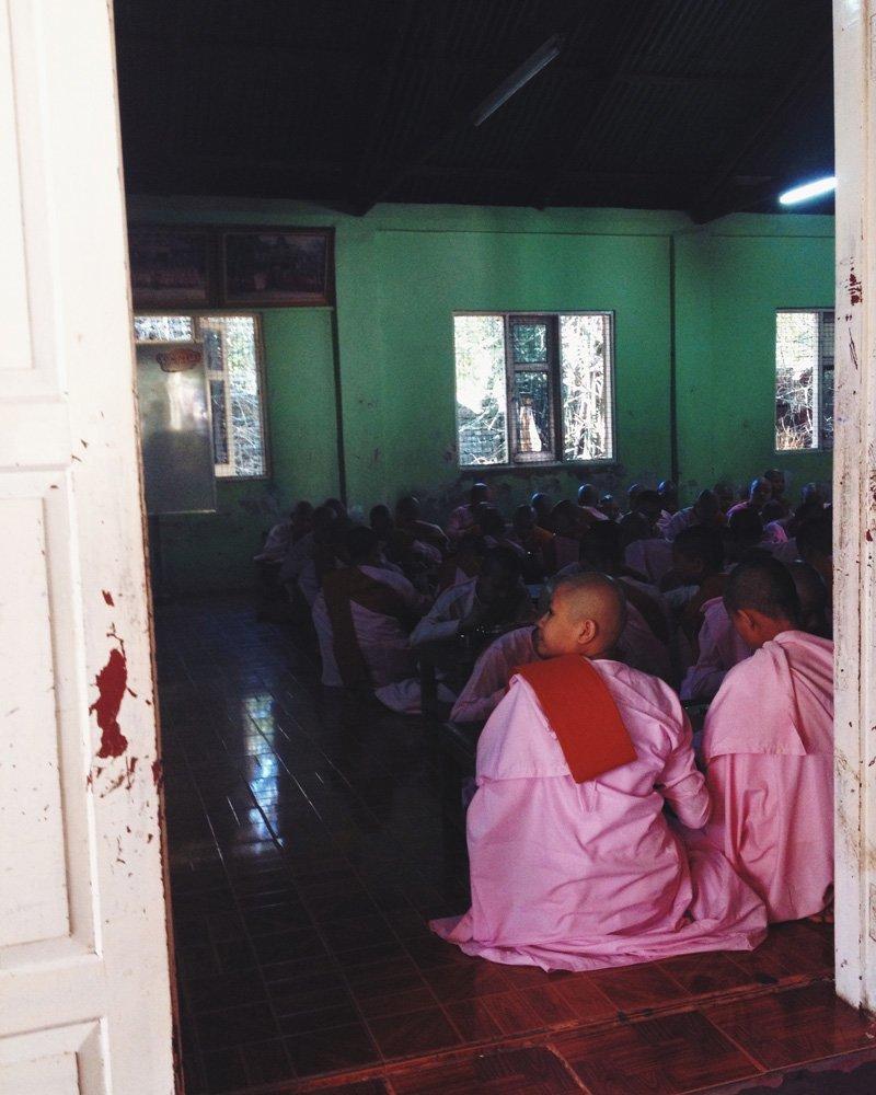 Day 107: Kalaywa Tawya Nunnery — Yangon, Myanmar