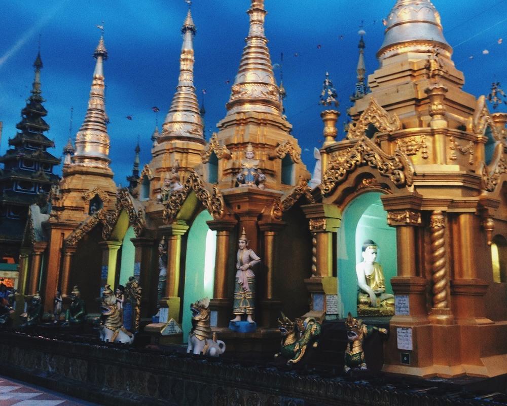Day 108: Shwedagon Pagoda — Yangon, Myanmar