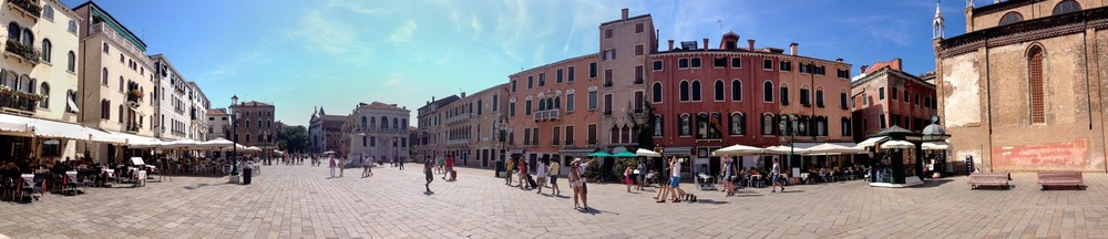 Venice, Italy in July
