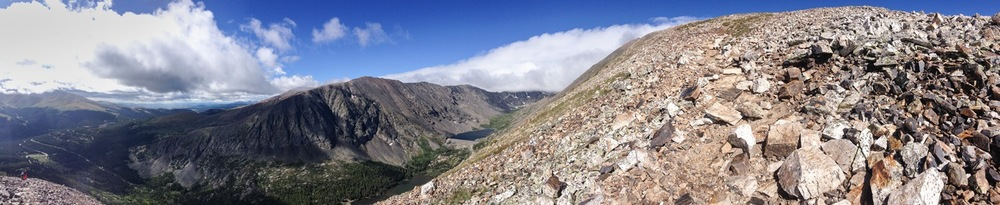 Quandary Peak, Colorado in August