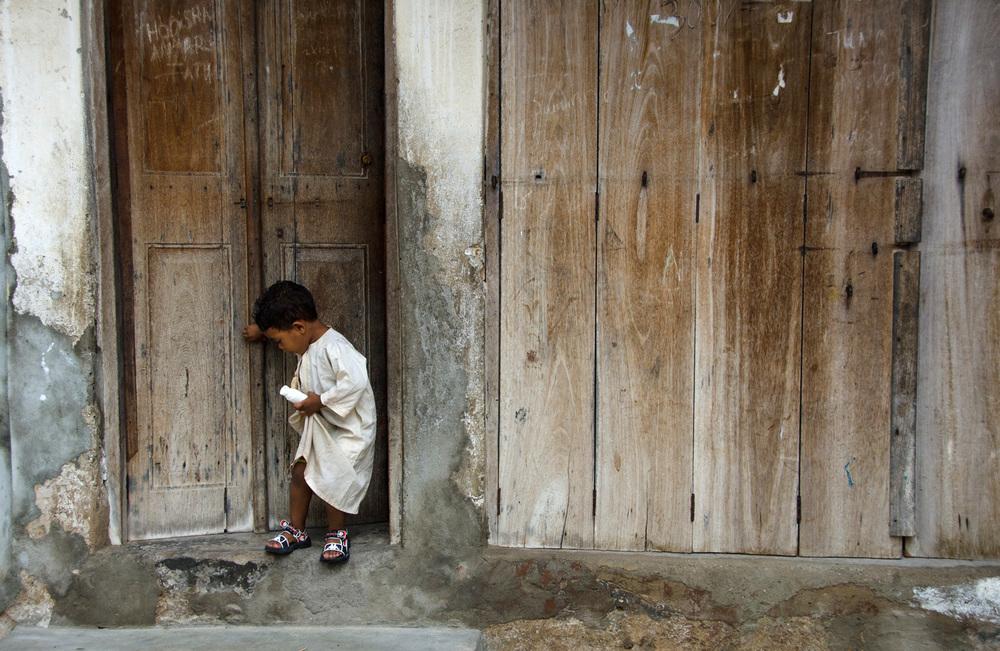 Boy in Zanzibar