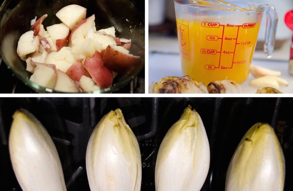 Foodie Dice Dinner - Ingredients