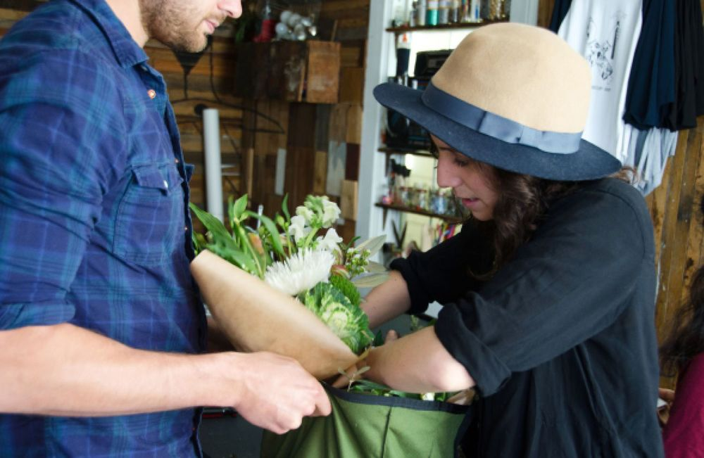Collaborating with Postmates to deliver flowers around SF (STiBN)