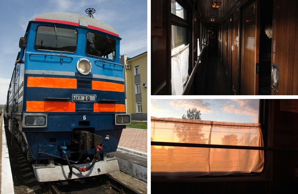 On the Trans-Siberian Railway