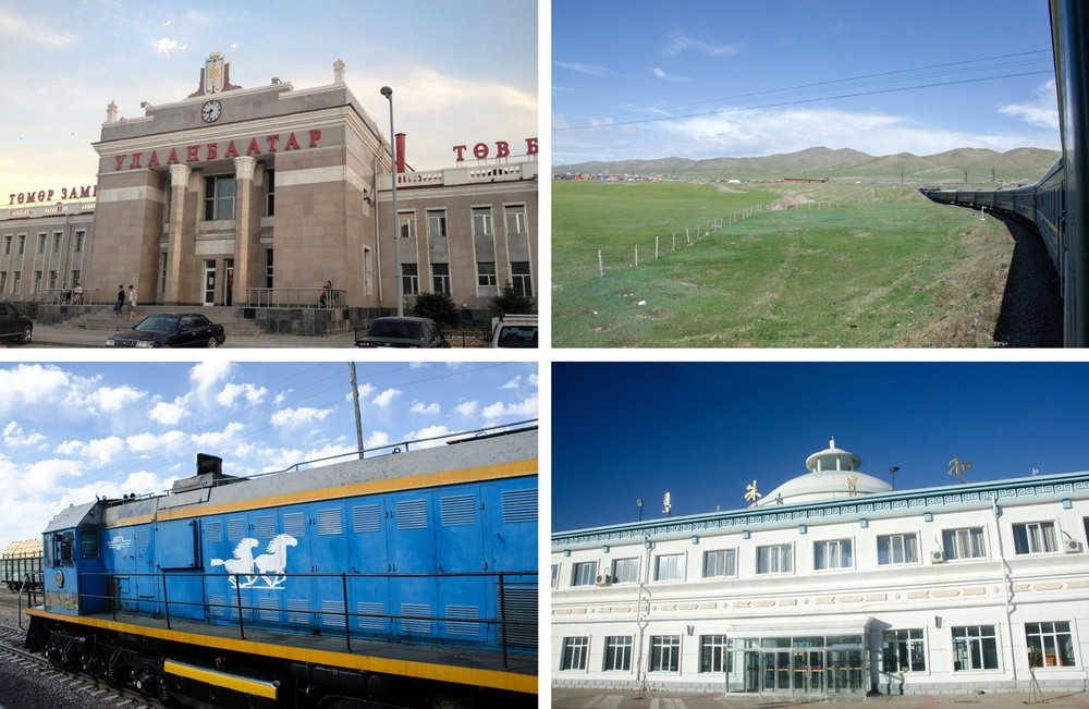 Mongolia on the Trans-Siberian Railway