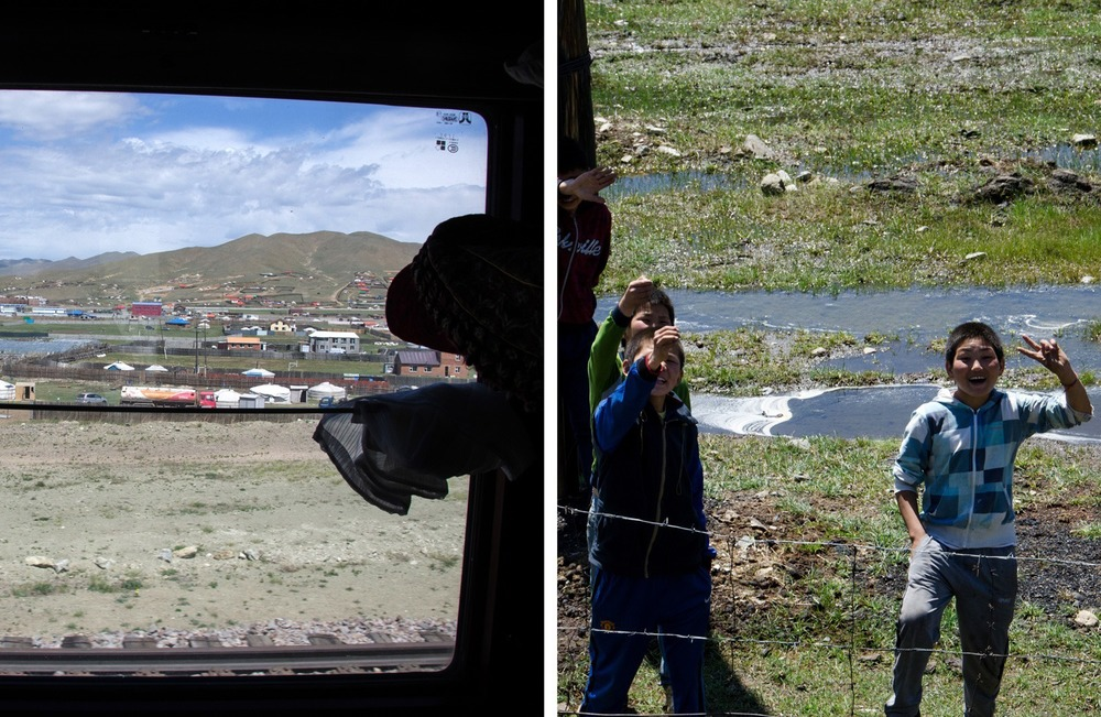 Nearing Ulaanbaatar