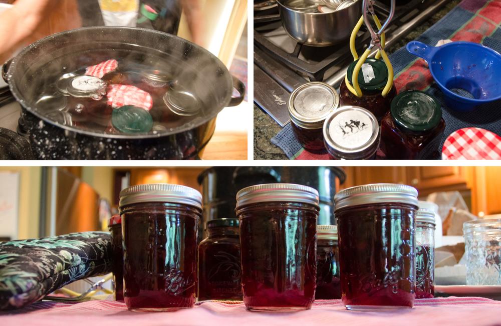 Step 5: Seal the jars