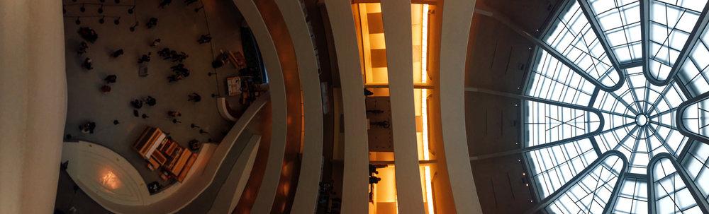 The Guggenheim, Manhattan in October