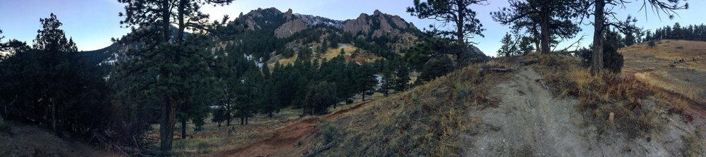 Boulder, Colorado in December