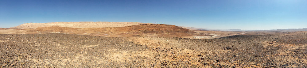 Ramon Crater, Israel in September
